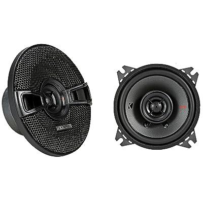 """Kicker KSC404 KSC40 4"""" Coax Speakers with .5"""" tweeters 4-Ohm : Car Electronics"""