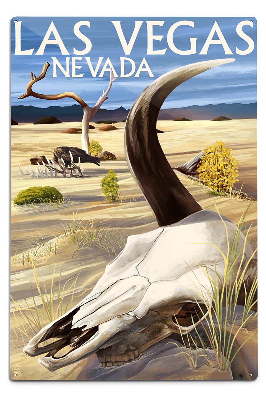 【本物新品保証】 Cow Skull – ラスベガス、ネバダ州 Sign 24 Cow x 36 Giclee LANT-44558-24x36 Print LANT-44558-24x36 B06Y1GXX4Q 12 x 18 Metal Sign 12 x 18 Metal Sign, スピルリナ普及会:42504a1e --- arianechie.dominiotemporario.com