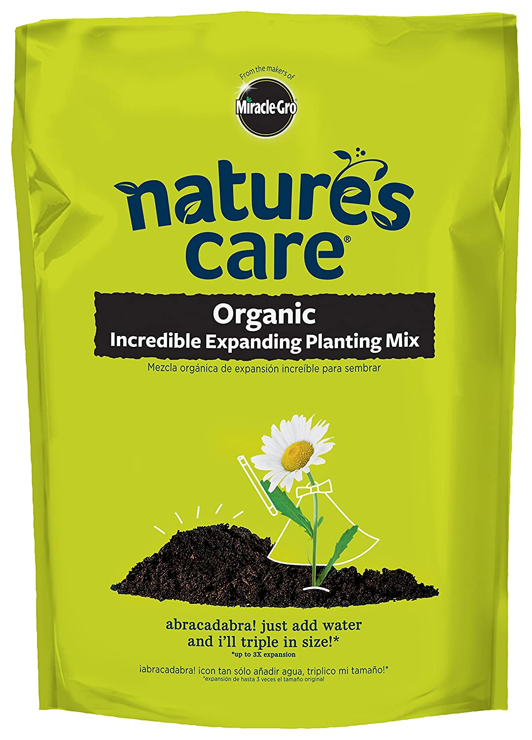 Nature's Care Organic Incredible Expanding Planting Mix 0.33CF