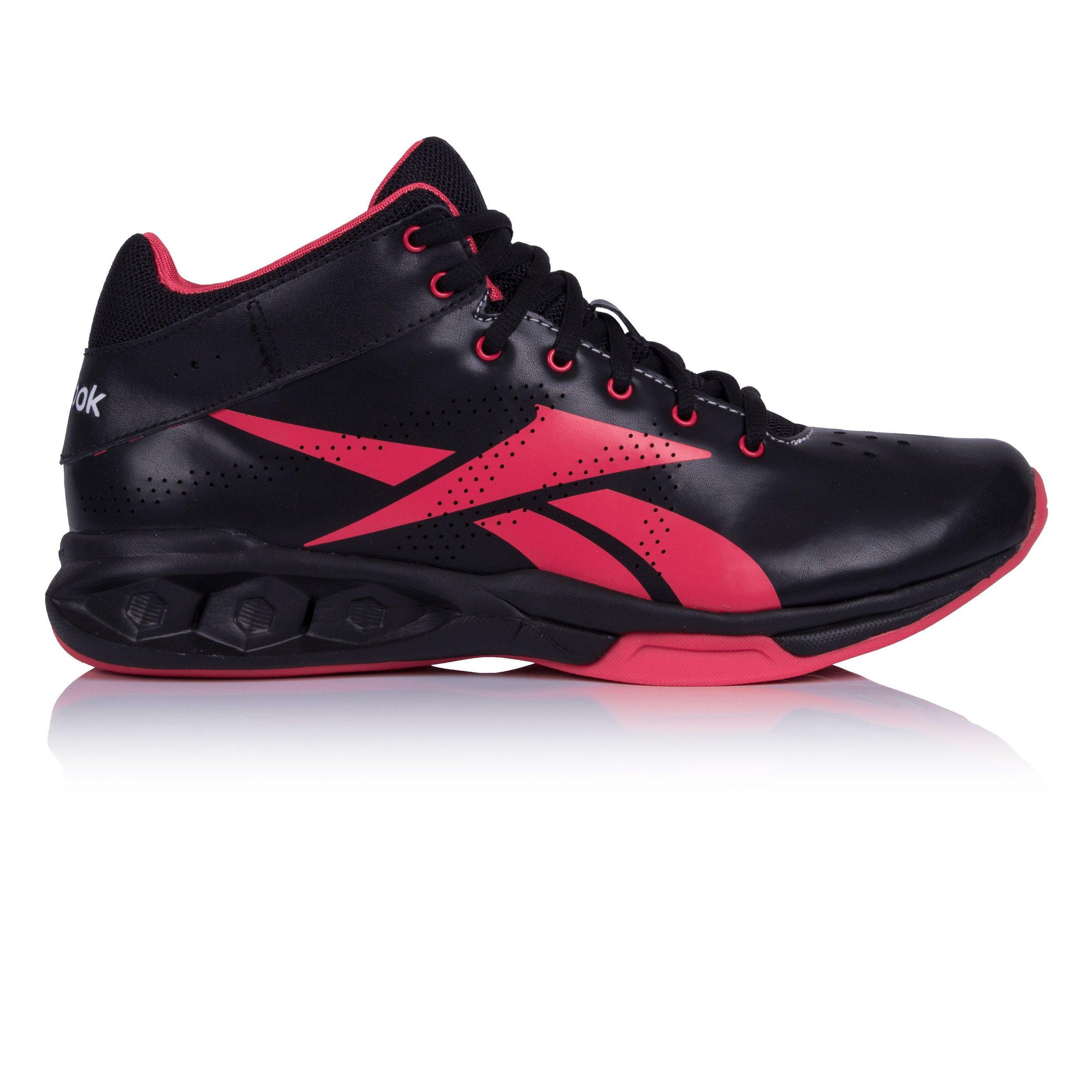 Reebok Hexride Intensity Mid Womens Running Sneakers, Size 5 Black