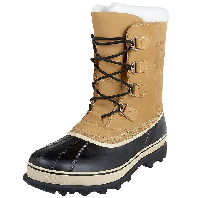 Amazon.com | SOREL - Mens Caribou Shell Boot, Size: 14 D(M) US, Color: Buff | Snow Boots