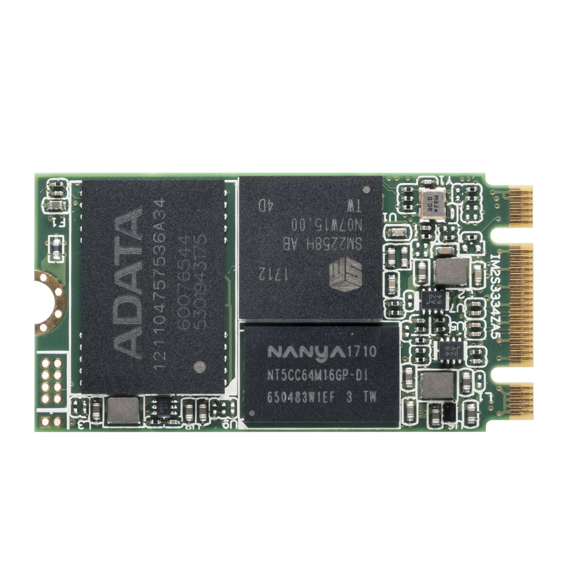 ADATA IM2S3334 128 GB Industrial-Grade M.2 2242 NGFF 42mm SATA III 6Gb/s Internal Solid State Drive (IM2S3334-128GD)