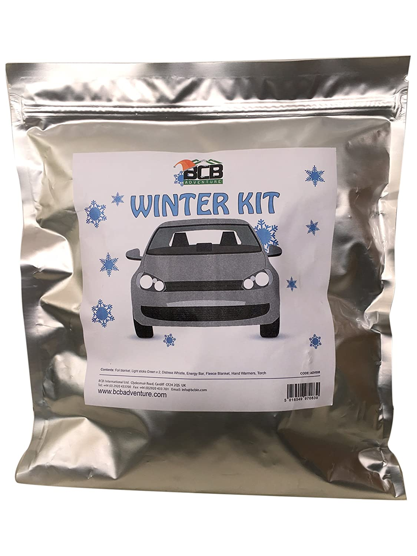 Silber BCB Adventure Unisex Autofahrer Winter-Set