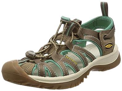 KEEN Women's Whisper Sandal, Shiitake/Malachite, ...