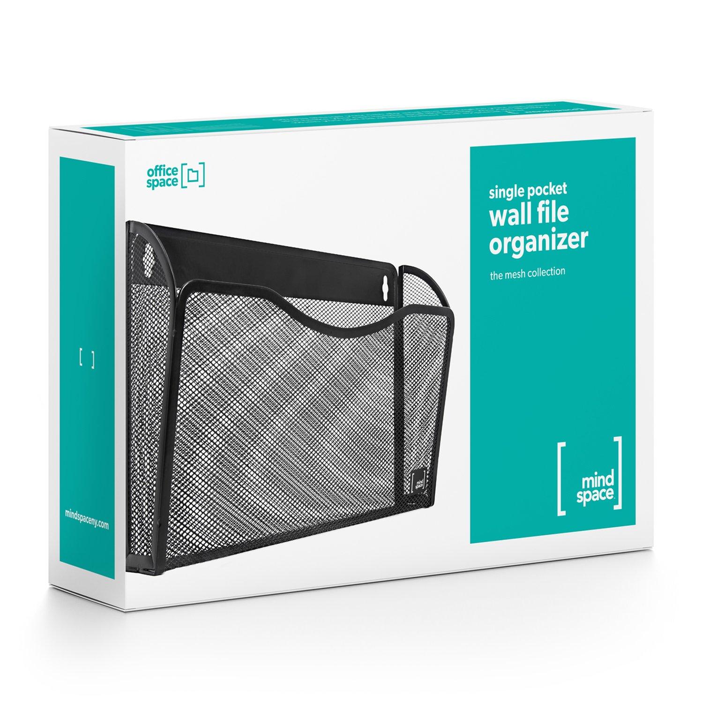 Amazon.com : Wall File Holder Organizer By Mindspace, Hanging Single ...