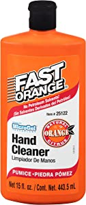 Permatex 25122 Fast Orange Pumice Lotion Hand Cleaner - 15 fl. oz., Single