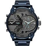 Diesel Men's Quartz Watch chronograph Display and Stainless Steel Strap, DZ7414