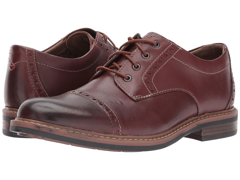 [ボストニアン] Bostonian メンズ Melshire Cap オックスフォード [並行輸入品] B07514B8KP 25.5 cm D|Mahogany Leather Mahogany Leather 25.5 cm D