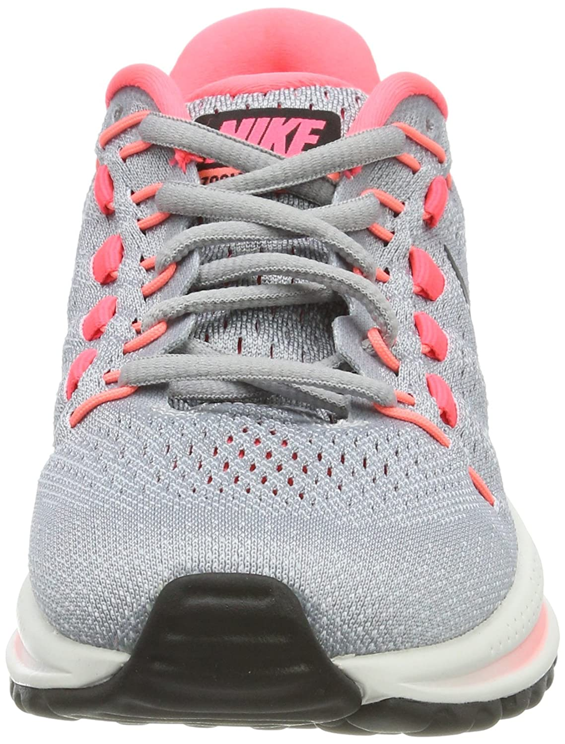 Nike W Punch Air Zoom Vomero 12 Platinum/Hot (N) Mujer Zapatillas