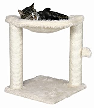 baza cat hammock in cream color premium cat tree for large cats and kittens