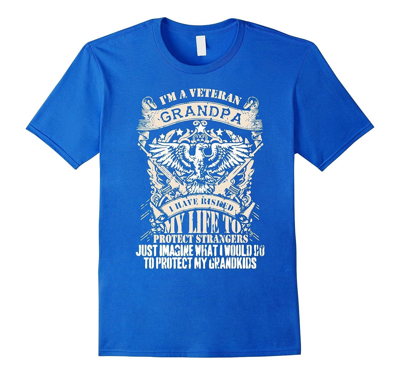 efefba57 I Am Veteran Grandpa T Shirt-TD – Teedep