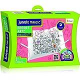 Jungle Magic Doodle Artz Sports, White