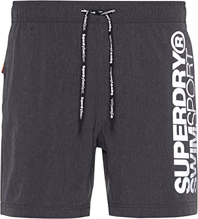 Superdry Sports Volley, Short de Bain pour Hommes