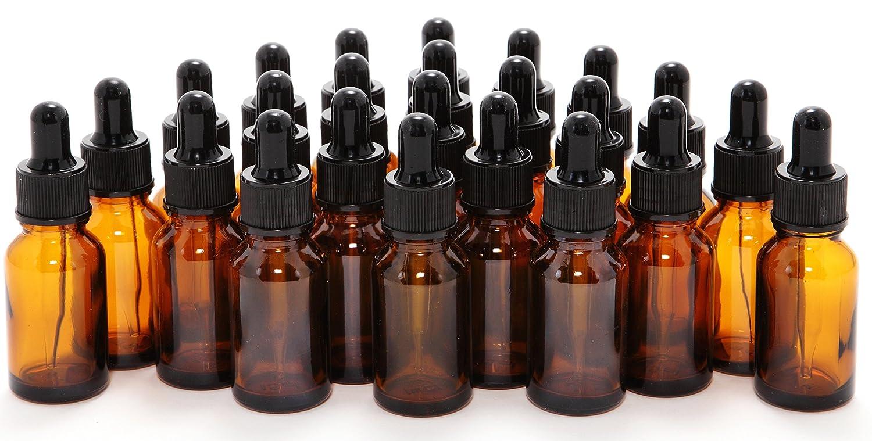 Amazon.com: Botellas de vidrio de 15ml (1/2 onzas ...