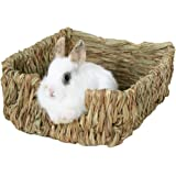 Peter's Woven Grass Pet Bed and Toys