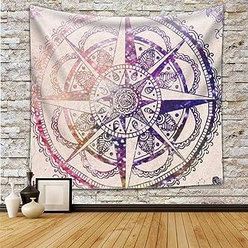 Wandteppich Mandala Moderne Tapisserie Yoga Matte Wand Hängende Dekoration Für Wohnung Wohnheim Schlafzimmer Wohnzimmer Tisch Couch Cover Square