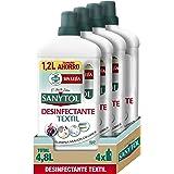 Sanytol - Desinfectante Textil - 4 unidades de 1200ml