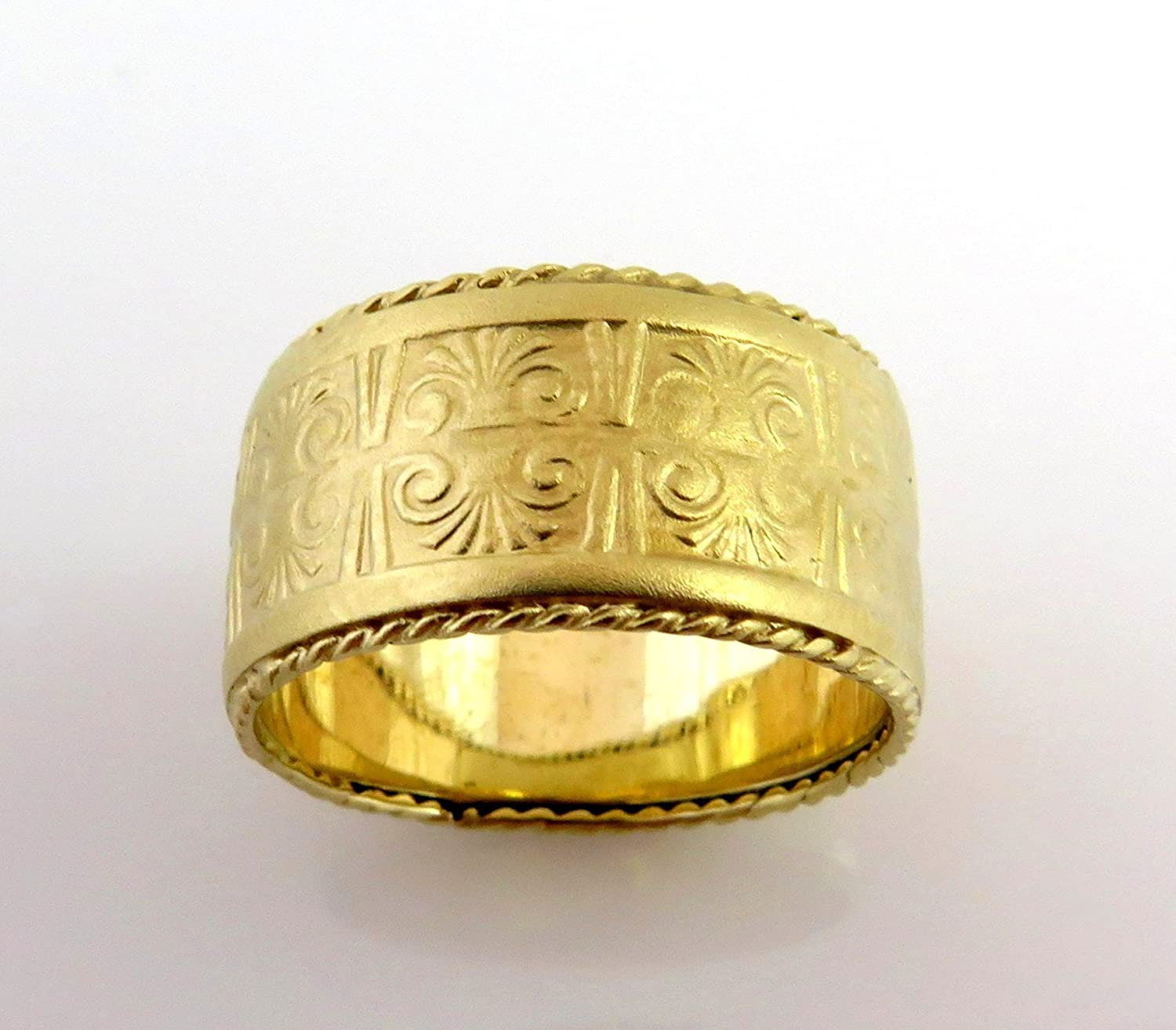 neoclassical to university roman emerald wedding ring ancient rings aju egyptian