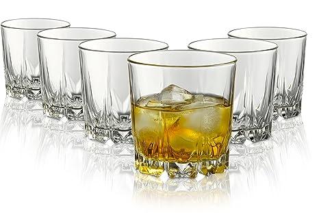 tivoli bicchieri  Tivoli Bicchieri Dublin/Set di 6/300 ml/Bicchieri da Whisky/Lavabili ...