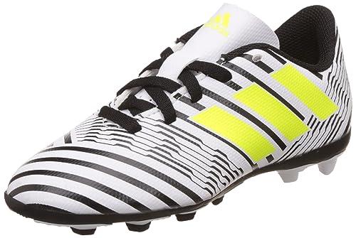 separation shoes 002eb f9928 adidas Nemeziz 74 FxG J, Scarpe da Calcio Unisex-Bambini, Giallo (Footwear