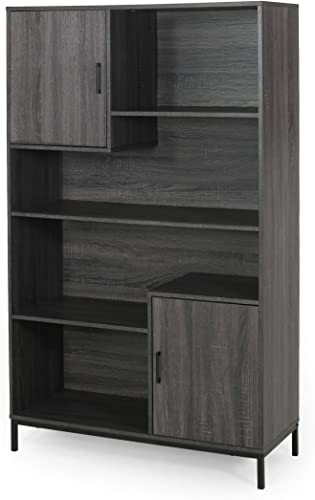 Great Deal Furniture Joanne Contemporary Faux Wood Cube Unit Bookcase