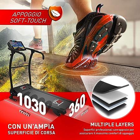 YM Fitness Cinta de Correr Plegable de Alta-Velocidad Kick ...