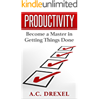 Productivity: Become a Master in Getting Things Done book cover