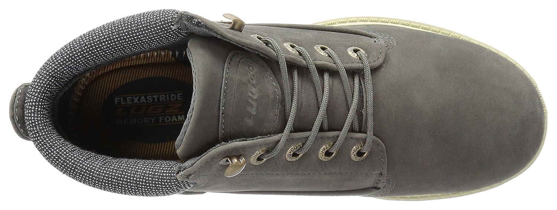 Lugz Women's Drifter Lx Chukka Boot B015UNKQAA 10 B(M) US|Charcoal/Cream/Gum/Blue-black
