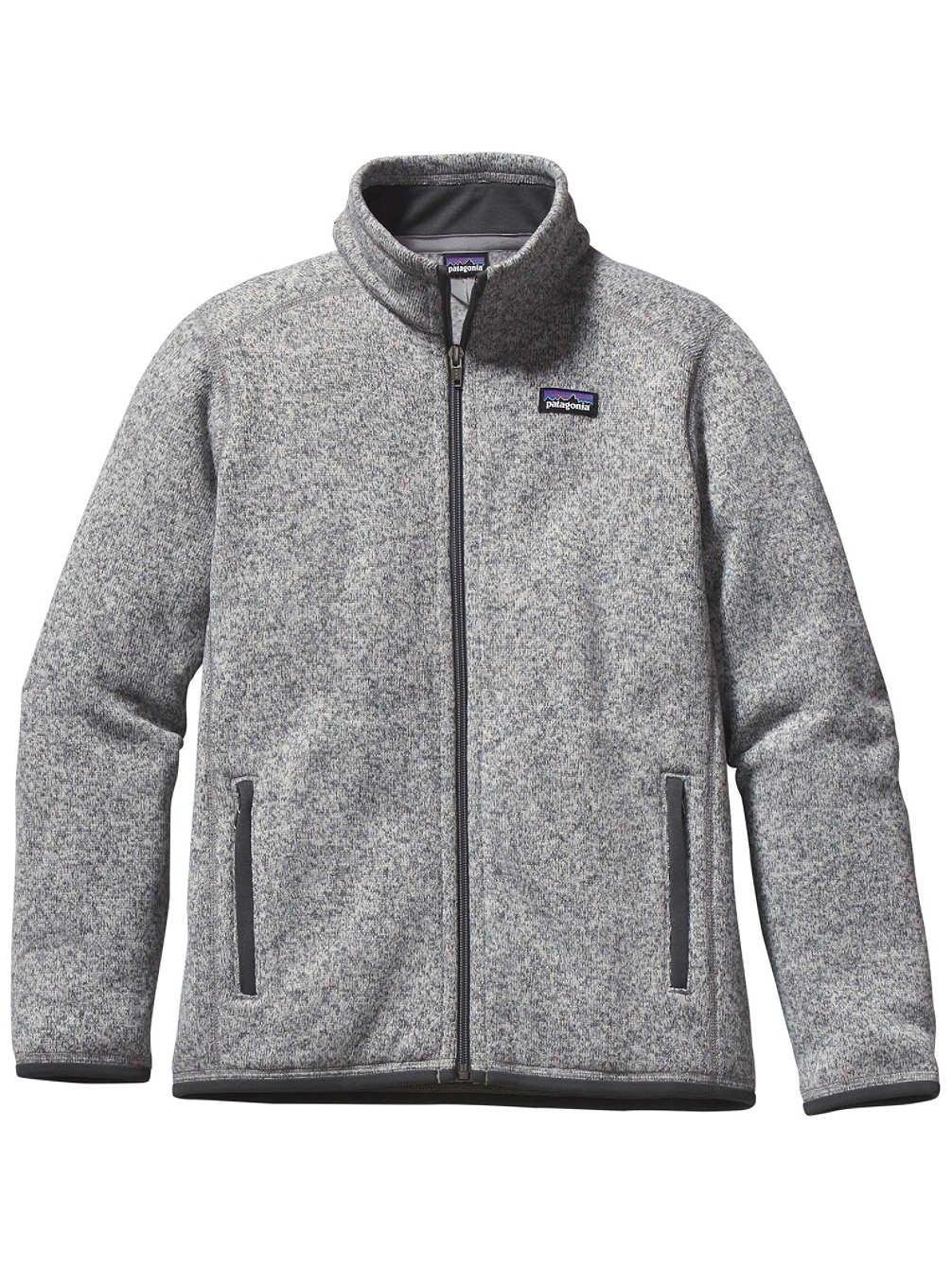 Patagonia Better Sweater Fleece Jacket - Boys' Stonewash