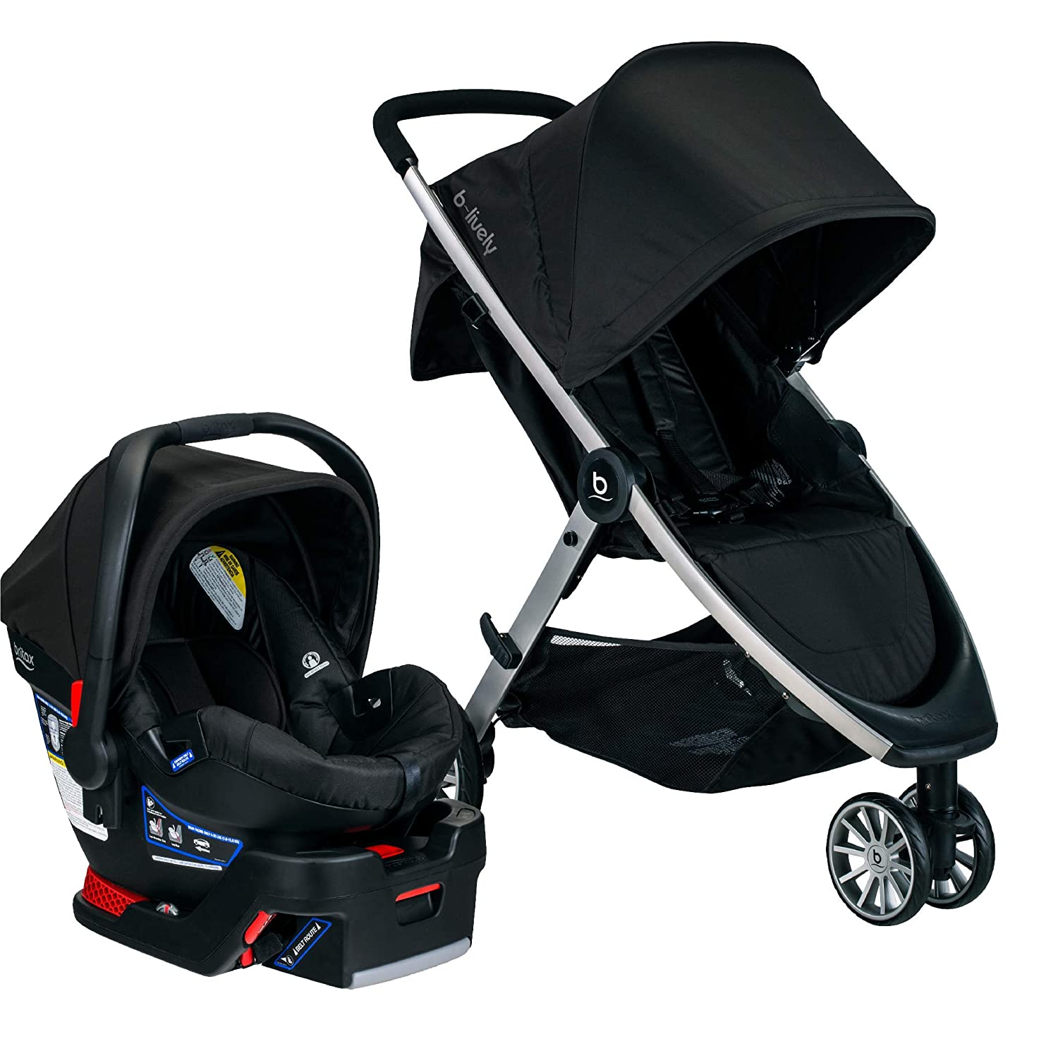 Amazon Com Britax B Lively Travel System With B Safe 35 Infant