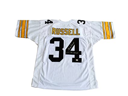 1e4913699 Andy Russell Signed Pittsburgh Steelers  quot  2x Champs  quot  Jersey JSA