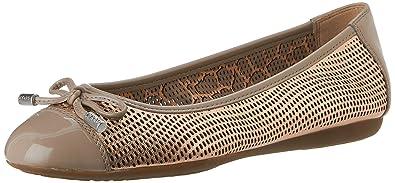 Elucidación rigidez Canoa  Geox Women's D LOLA A Ballet Flats: Amazon.co.uk: Shoes & Bags
