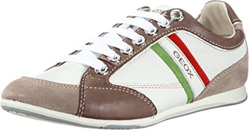 Leve Recoger hojas valor  Geox U Andrea Art.P, Men's Trainers, White (Te/Taupec154), 8.5 UK:  Amazon.co.uk: Shoes & Bags