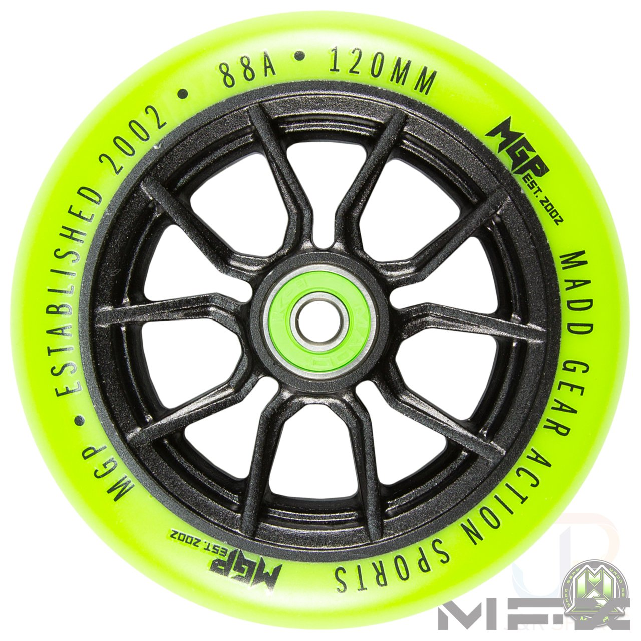 Madd Gear MFX Syndicate AR120 Core 120 mm Cœur en Métal ...