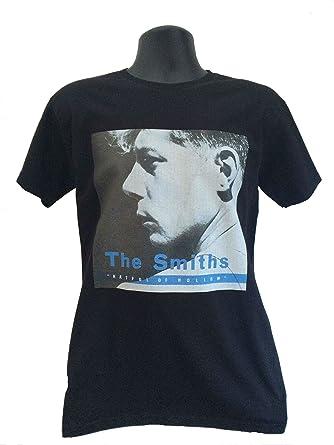 da1c0013 The Smiths 'Hatful of Hollow' Black t-Shirt: Amazon.co.uk: Clothing