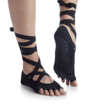 Amazon.com: Gaiam Grippy - Calcetines de yoga para mayor ...