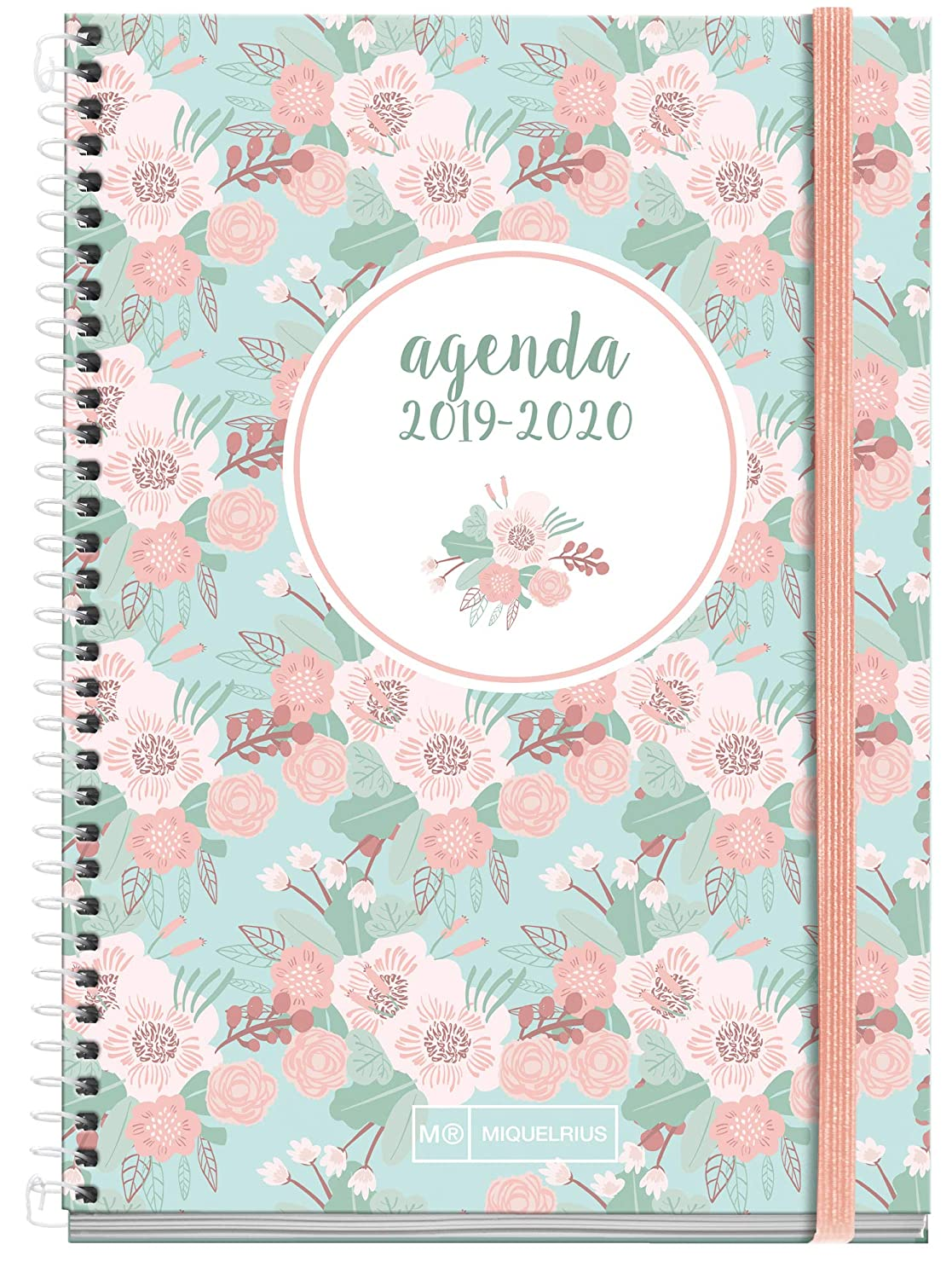 Amazon.com : Miquelrius School Agenda with Spiral 19/20 Día ...