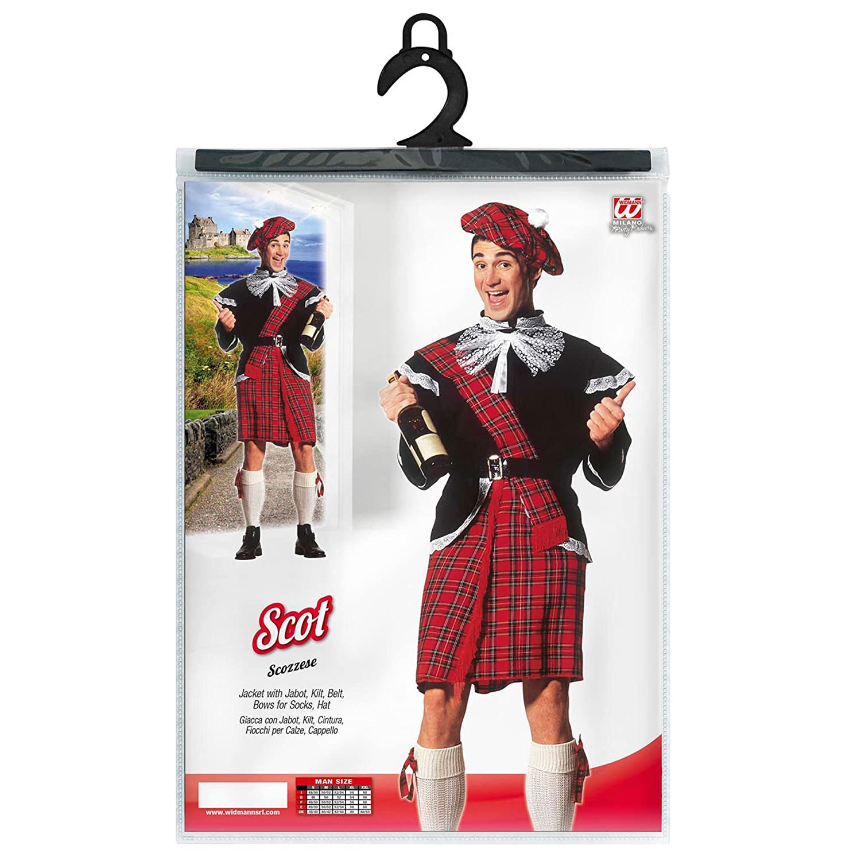 WIDMANN Desconocido Disfraz de Escoces Adulto: Amazon.es ...