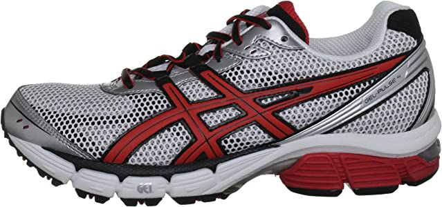 Asics Gel Pulse 4 M, Zapatillas para Hombre, White/Red/Metal Silver, 48 EU: Amazon.es: Zapatos y complementos