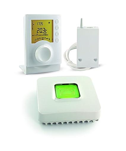 Delta Dore 6053045 Tybox 137 - Pack de termostato programable conectable