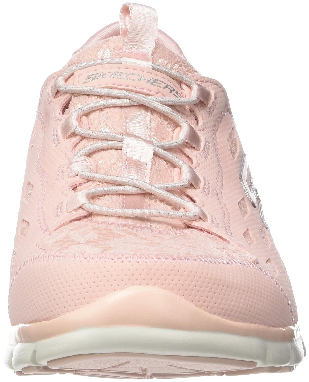 Skechers Damen Gratis-Chic Craze Slip On Sneaker Pink Pink) (Light Pink) Pink c26ee4