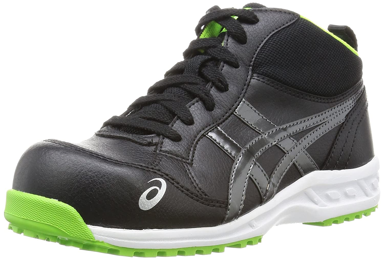 [アシックスワーキング] 安全靴作業靴 ウィンジョブ35L B01B65710Y 22.5 cm|ブラック/ダークグレー ブラック/ダークグレー 22.5 cm