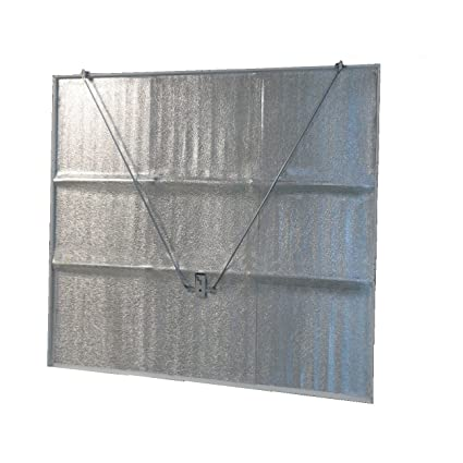 Aluminium Faced Sticky Back Insulation For A Garage Door