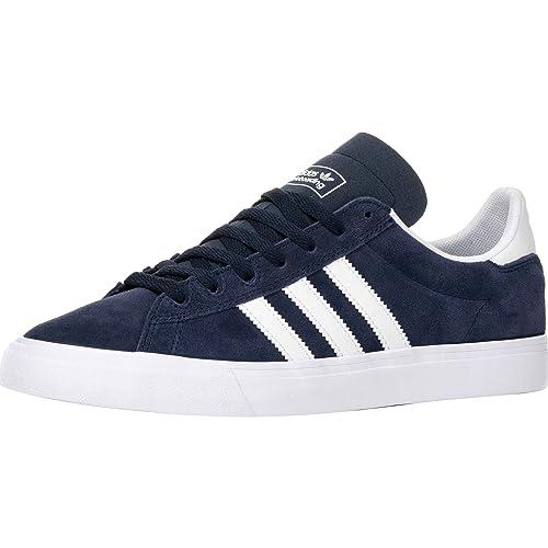 new product b3013 5b1fd Adidas Campus Vulc 2 ADV Collegiate Navy White White  Amazon.it  Scarpe e  borse