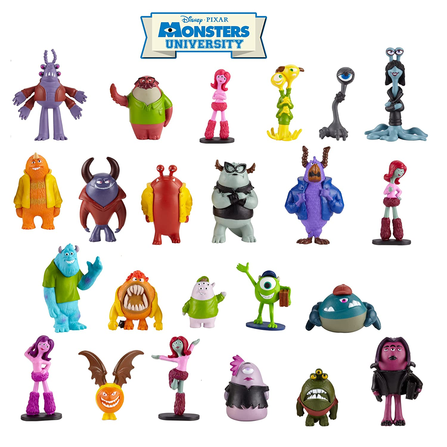 amazon com monsters university single door with figure slime by
