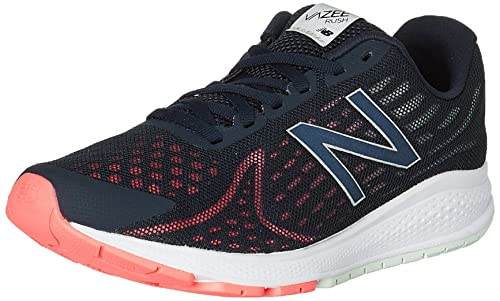 New Balance Women's Vazee Rush v2 Training Running Shoes, Black (Galaxy  with Guava)