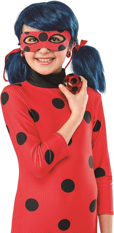Miraculous Ladybug Yo-Yo and Clip-On Earrings Red