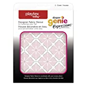 Playtex Diaper Genie Expressions Diaper Pail Fabric Sleeve, Pink Starburst