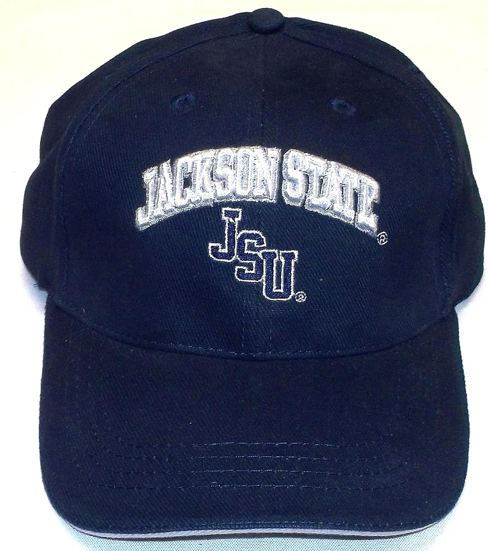 Jackson State Tigers Red Oak Strap Back Hat Osfa