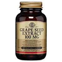 Solgar – Grape Seed Extract, 100 mg, 60 Vegetable Capsules